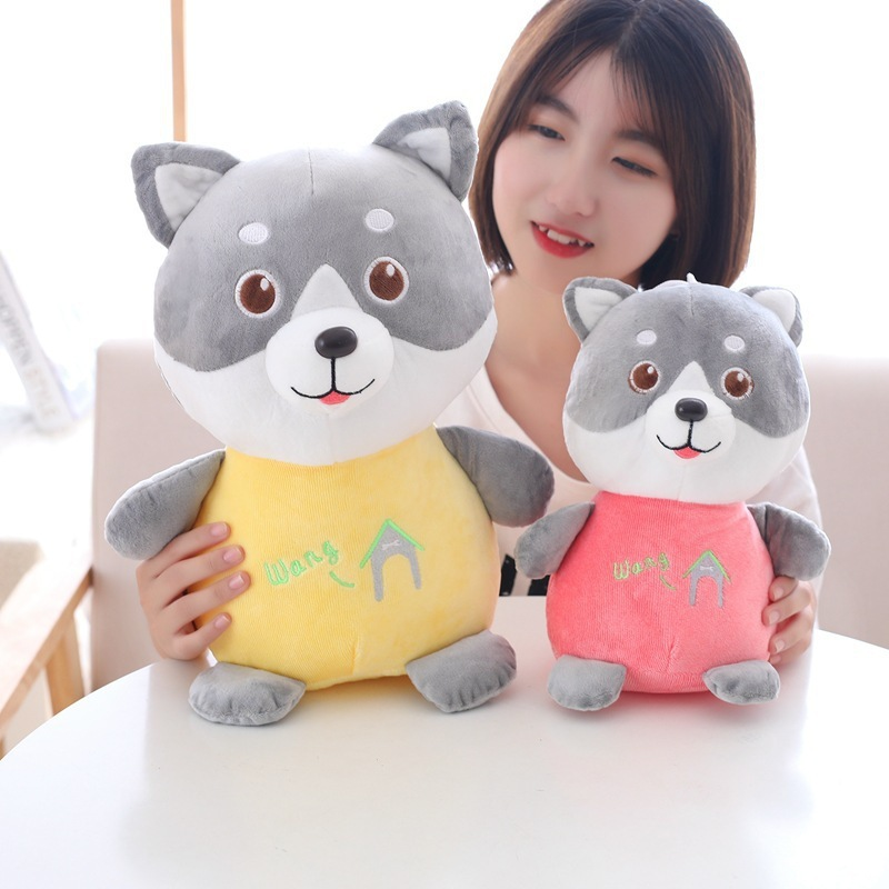 1pc 30-50cm Lovely Husky Plush Toy Staffed Soft Animal Dog Doll Kids Baby Kawaii Gift Toy Good Christmas Gift for Children Girls