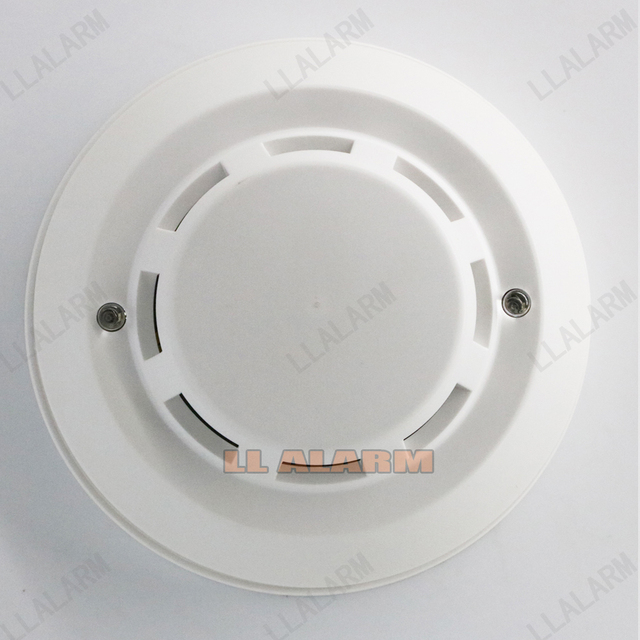 Wired 12V Smoke Fire Detector Sensor For Wired GSM PSTN  Security  alarm Systems
