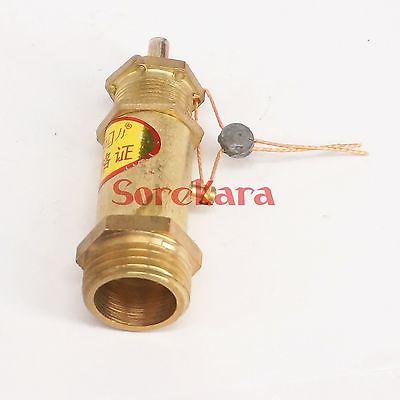 3/4 BSP male Thread 143 PSI Brass Air Compressor Safety Relief valve Pressure switch Pop-off valve