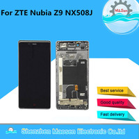M Sen Lcd Screen Display Touch Panel Digitizer With Frame For 5 2 ZTE Nubia Z9