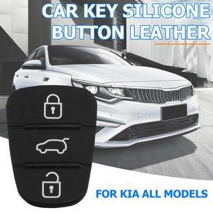 Image 5 - Nova substituição almofada de borracha 3 botões flip carro remoto chave do escudo para hyundai i30 ix35 kia k2 k5 caso capa