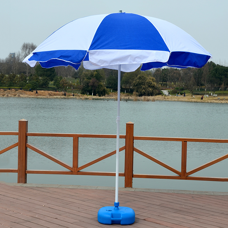 Outdoor Garden Beach Umbrella Stand Plastic Parasol Base Billboard