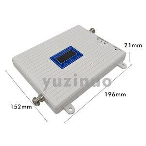 Image 2 - 2G 3G 4G Tri Band Booster GSM 900 + (B1) UMTS WCDMA 2100 + (B7) FDD LTE 2600 טלפון סלולרי משחזר 900 2100 2600 נייד אות מגבר