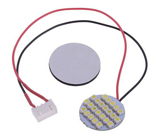 24 LED Multi Axis Night Lights White for DJI PHANTOM Multi Axis RC Aircraft with Mucilage Glue and Connecting Sensor FPV