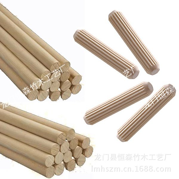 Furniture Accessories Factory Direct Supply Twill Tenon Dowel Stick Wholesale Large Favorably Specifications