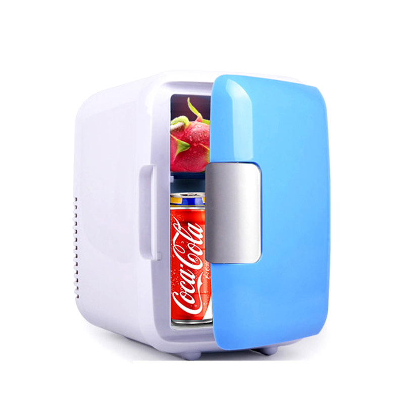 12V 4L Car Refrigerator mini Warm Cool Vehicle Refrigerator Auto Freezer Fridge Multi-function Travel Refrigerator