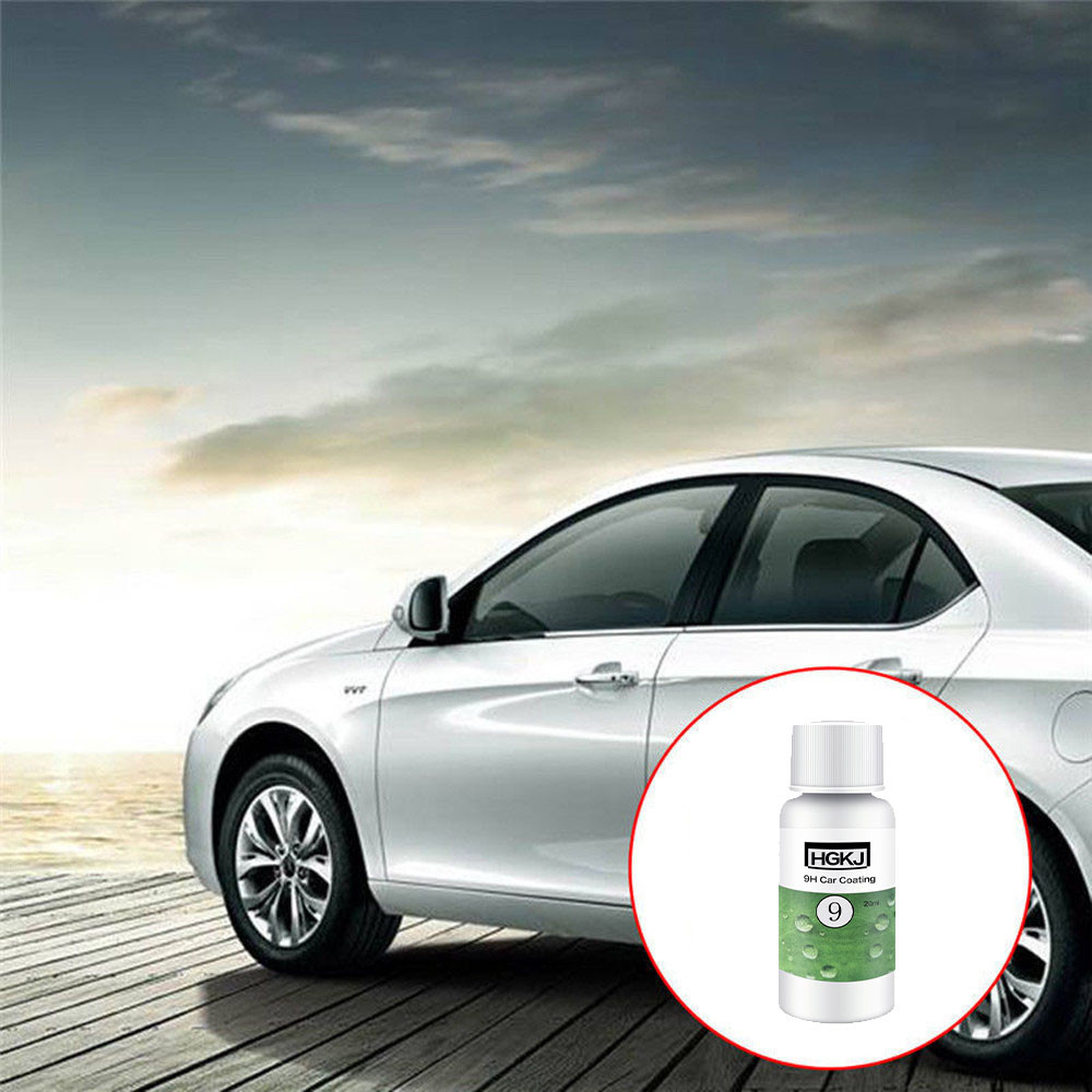 Cleaning Suits 1Sponge + Bottle Plating solution+ 2 x Towel 9H Car super hydrophobic Glass Coating May.16