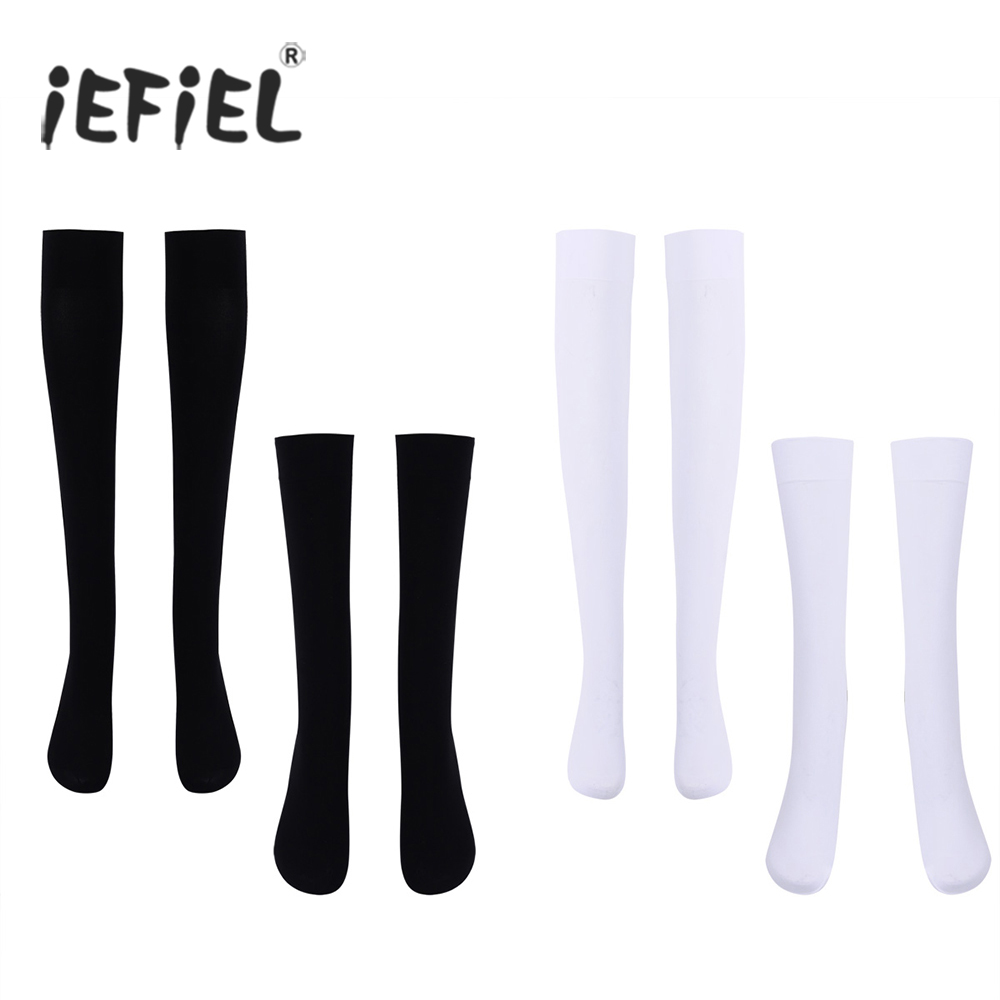 Fashion Warm Womens Girls Over The Knee/Over The Calf Thigh High Soft Opaque Stockings Cotton Full-footed One Size Stockings
