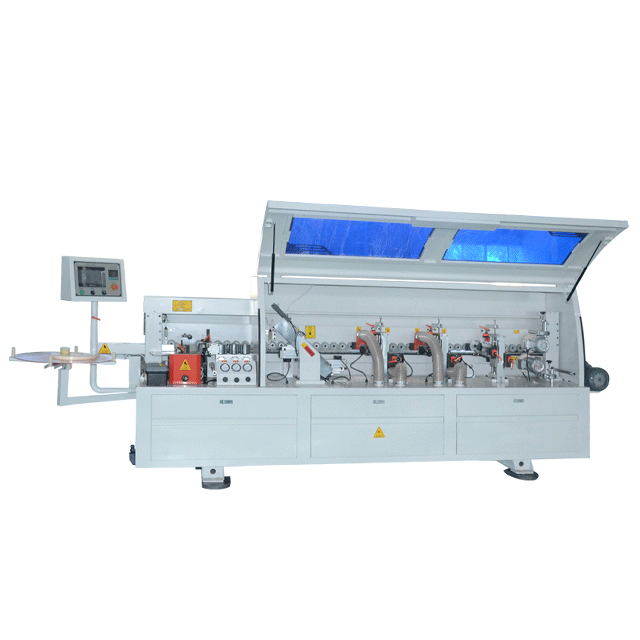 Automatic Edge Banding PVC Bander Machine Working For Industry Machinery