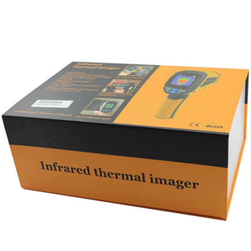 HT-02D Portable thermomètre infrarouge caméra d'imagerie thermique Portable IR imageur thermique dispositif d'imagerie infrarouge