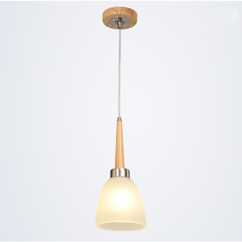 Modern Minimalist Wooden Pendant Light Creative Glass Lamp Living Dining Room Bar Metal Suspension Hanging Fixtures Lights PL460 creative european country wood chandeliers artistic for living room decoration modern minimalist style wooden e27 pendant lamp