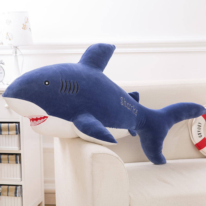 Aliexpress.com : Buy Big Shark Shape Decorative Cushion Throw Pillow with  Inner Home Decor Cartoon Bedding Sofa Toys Sleeping Pillow from Reliable  pillow ...