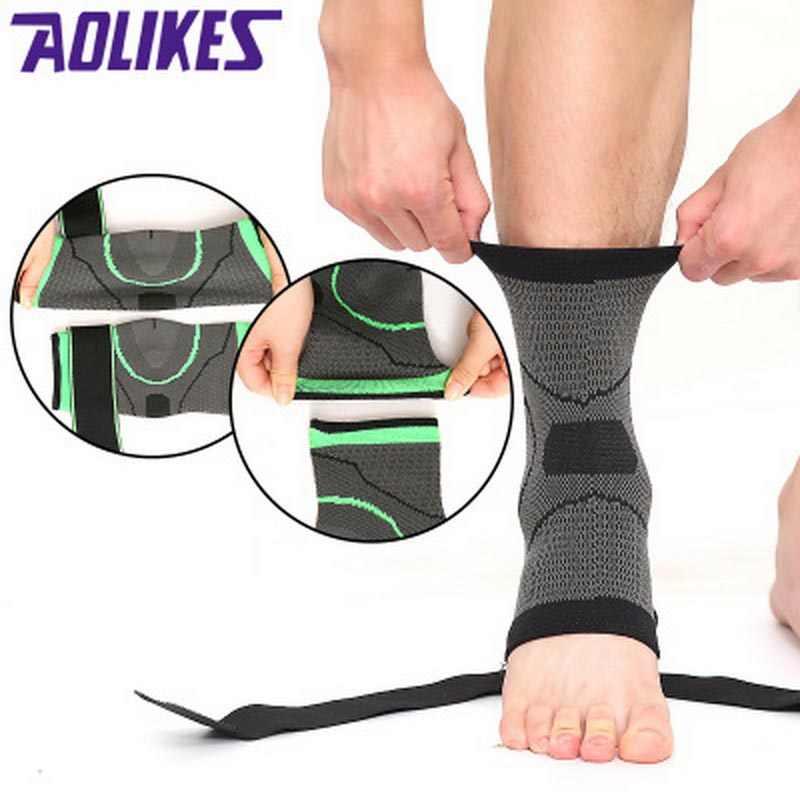 1 stücke Elastische Bandage Unterstützung Knöchel Schutz Für Sport Gym Ankle Brace Mit Strap Gürtel achilles sehne retainer Fuß Schutz