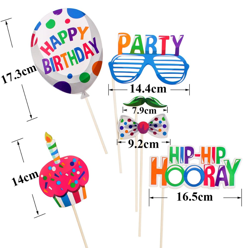 Image 2 - Happy Birthday Photobooth My First Superhero Decoration Kids Baby Boy Girl Adult Sweet 16 Party Decor Mexican Star Supplies-in Banners, Streamers & Confetti from Home & Garden