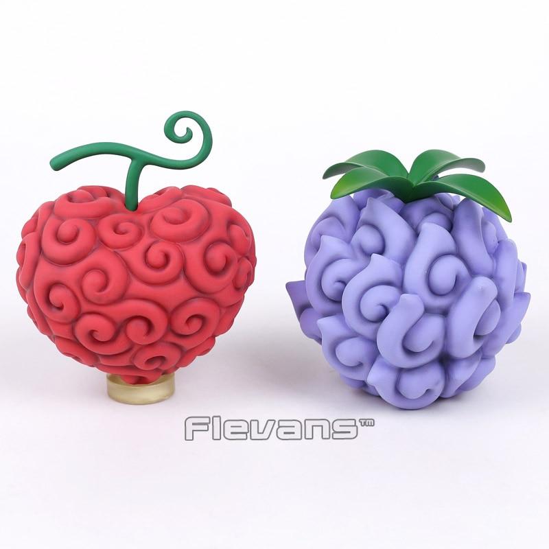 Anime One Piece Devil Fruit Trafalgar Law Operation & Teach PVC Figures Collectible Model Toys 2pcs/set anime one piece devil fruit ace flame flame fruit