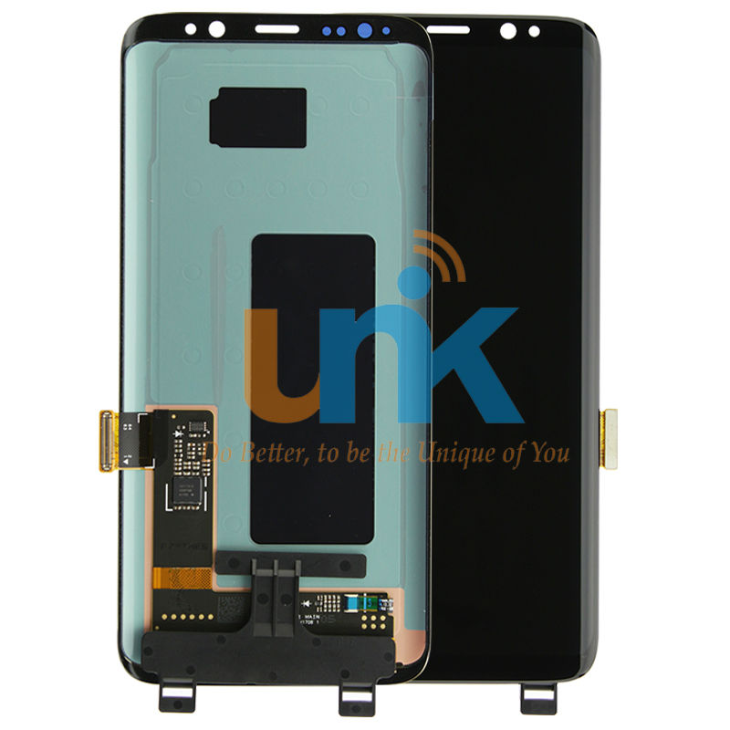 DHL Free Shipping 5PCS Original New 100% Working S8 S8 Plus LCD For Samsung S8 Lcd Display With Touch Screen Digitizer Assembly original 6 5 inch for pcm2 car lcd screen display panel ems dhl free shipping