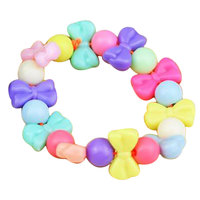 DIY Jewelry Making Beads Rainbow String Linking Bracelet Blossom Developmental