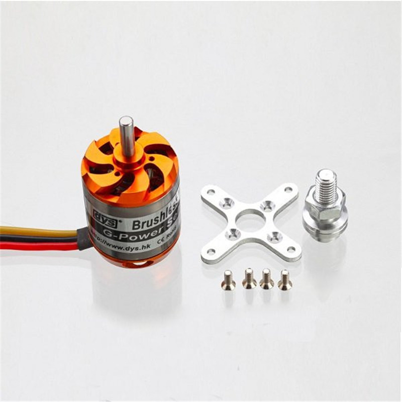 Upgraded DYS D3548 3548 790KV 900KV 1100KV Brushless Motor Set for RC RC Airplane Quadcopter Models xxd a2212 1000kv brushless motor for rc airplane quadcopter