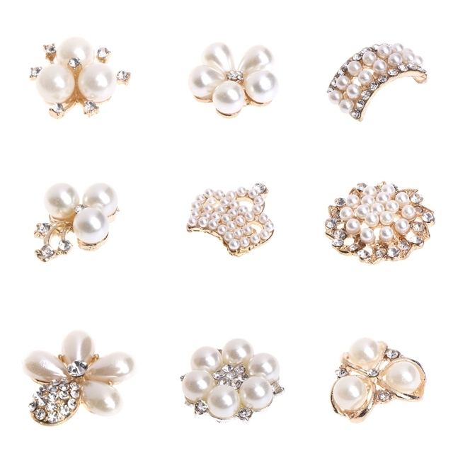 DIY Imitation Pearl Decoration Jewelry Making Ornament Flower Crafts  Accessories dc2d93c4bf21