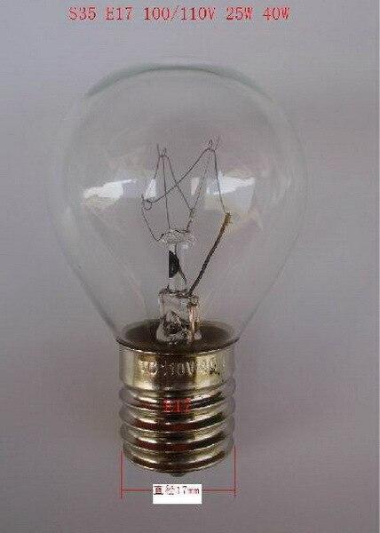 ¡Bien! Lámpara de iluminación estilo japonés S35 E17 220V 40W incandescente luz eléctrica americana LED086 10 Uds Bombilla halógena GU10, 20W, 35W, 50W, Bombilla de gran brillo, 2800K, luces de cristal transparente de alta eficiencia, bombillas de luz blanca cálida para el hogar