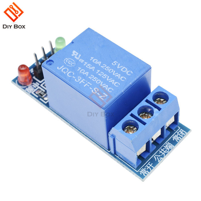 5V Low Level Trigger One 1 Channel Relay Module interface Board Shield DC AC 220V for Arduino PIC AVR DSP ARM MCU