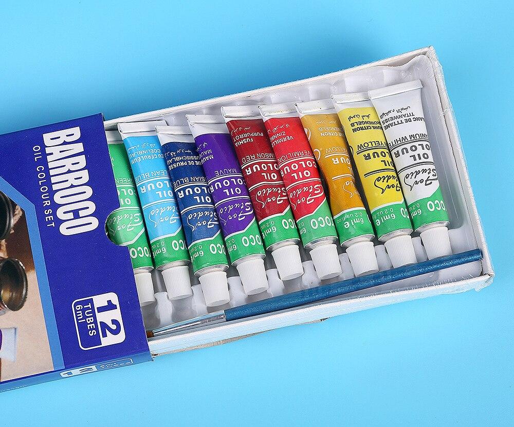 Professional Oil Paint Set - 12colors 3