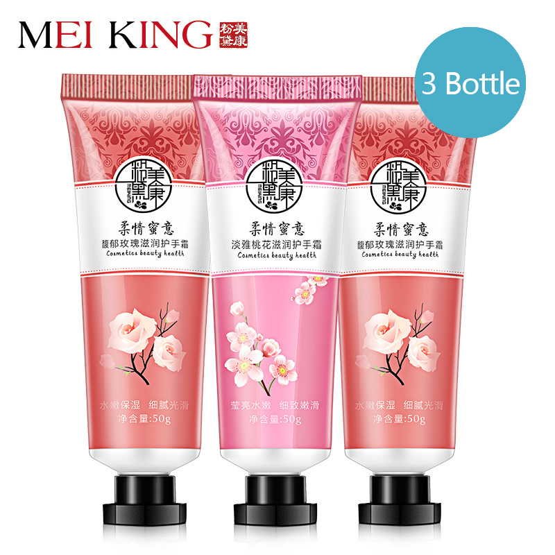 Buy MEIKING Hand Creams Lotions Rose Collagen Lubrication Compact  Whitening Nourishing Hand Care Anti Chapping Moisturizing lotion