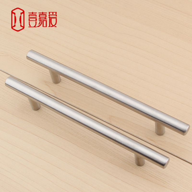 304 stainless steel handle of contemporary and contracted drawer handle cabinet shake handshandle wardrobe door handle extended contemporary and contracted brass material handle straight round bar cabinet cabinet wardrobe drawer artical metal handle