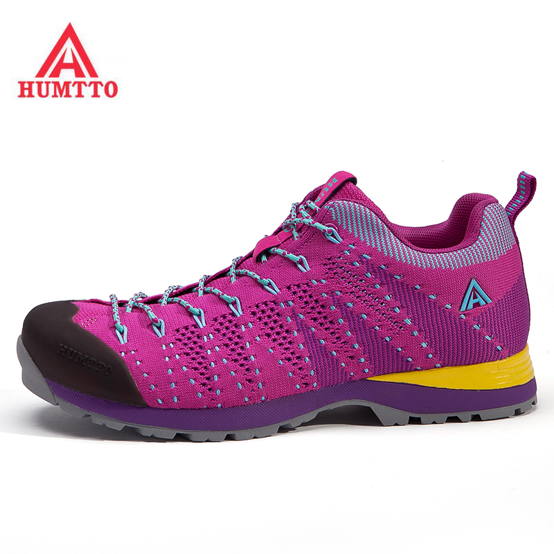 HUMTTO Women's Outdoor Hiking Trekking Sneakers Shoes For Women Elasticity Sports Climbing Mountain Shoes Woman Senderism 2017 womens sports summer outdoor hiking trekking aqua shoes sandals sneakers for women sport climbing mountain shoes woman