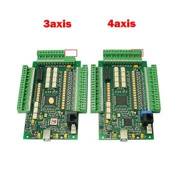 4 Axis Mach3 USB CNC card engraving machine motion control  3axis USBCNC Smooth Stepper Motion Controller