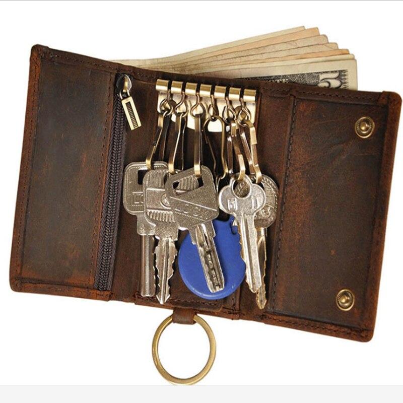 bolsa chave do carro bolsa Genuine Leather Tipo : Cow Leather