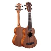 21 Inch Soprano Ukulele Sapele Top Back Side 15 Fret Mahogany Neck Rosewood Fingerboard U1 21
