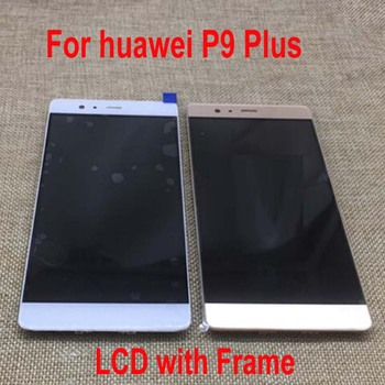 Best Working LCD Display Touch Panel Screen Digitizer Assembly Sensor + Frame For Huawei P9 PLUS P9Plus VIE-AL10 VIE-L09 VIE-L29 фото