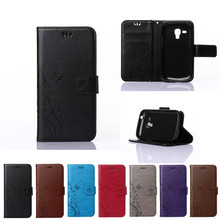 Case for Samsung Galaxy S Duos 2 S7582 S 7582 GT-S7582 Flip Case Phone Leather Cover for Galaxy Trend Plus S7580 S 7580 GT-S7580