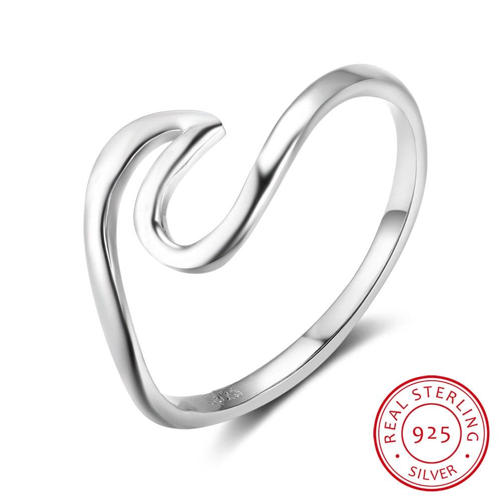 925 Sterling Silber Ringe Für Frauen Vintage Style Silber Schmuck Mode Engagement Hochzeit Ringe 2017 Neue (ri102802)