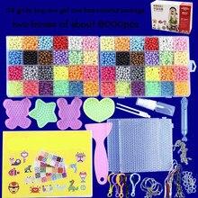 Miçangas de água mágicas 6000 peças, moldes artesanais de animais para fazer a mão quebra-cabeça 3d, brinquedos educacionais para crianças reabastecer