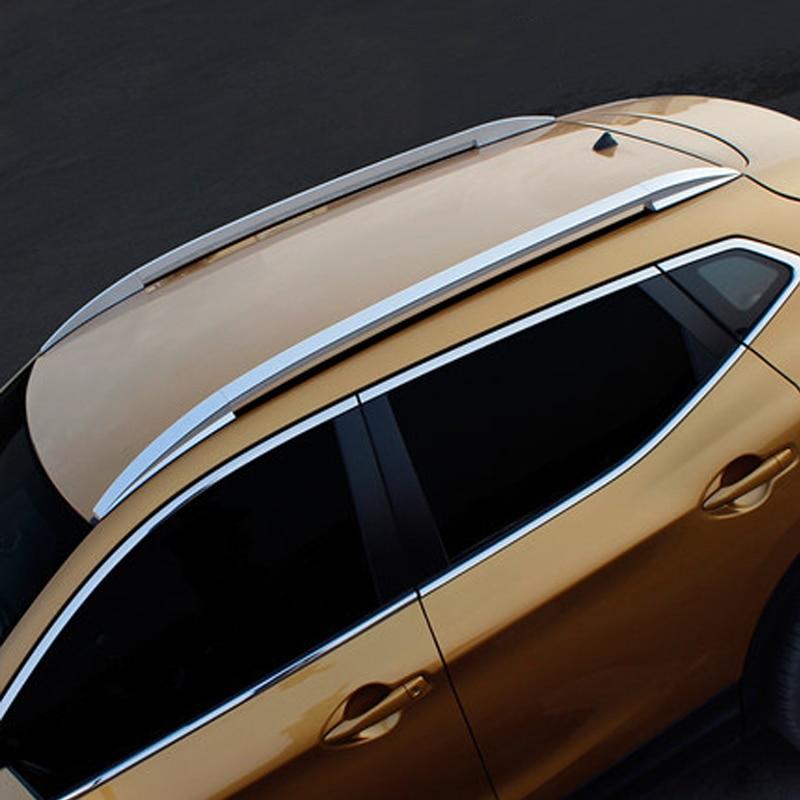 For Nissan Qashqai 2016 2017 Roof Rack Rails Bar Luggage