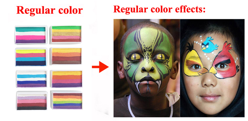 China rainbow body face paint Suppliers