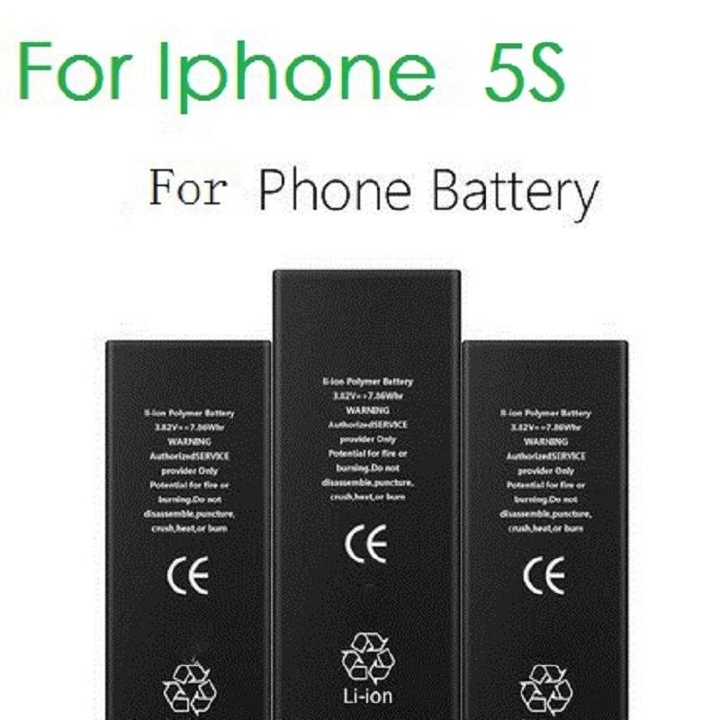 100% Original Brand ANtirr Handy-akku Für iphone 5 S Reale Kapazität 1560 mAh Mit Maschine Tools Kit Mobilen Batterien