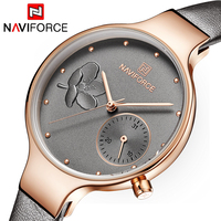 Women Fashion Brand Quartz Watch Lady Leather Watchband High Quality Casual Wristwatch Christmas and New Year Gift for Wife 2019