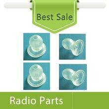 100X Nipple Eartip Clear Color For Surveillance Earphone