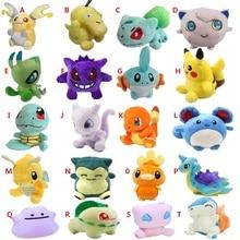 20 видов стилей плюшевые игрушки 12-18 см Peluche Pikachu Snorlax Charmander Mewtwo Dragonite милые мягкие куклы для детей Рождественский подарок
