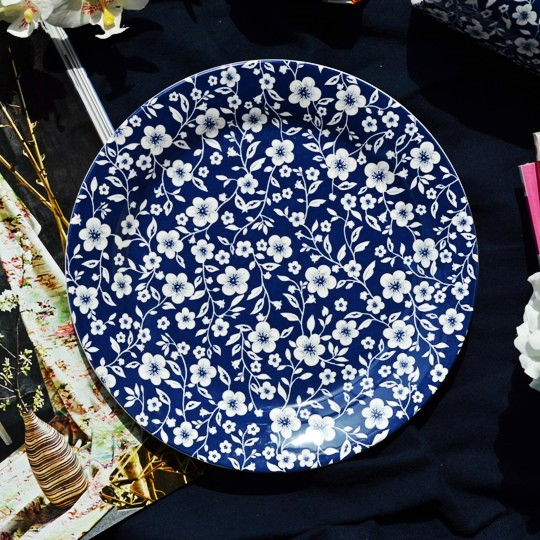 Earendil Original French Countryside Kono Blue Print