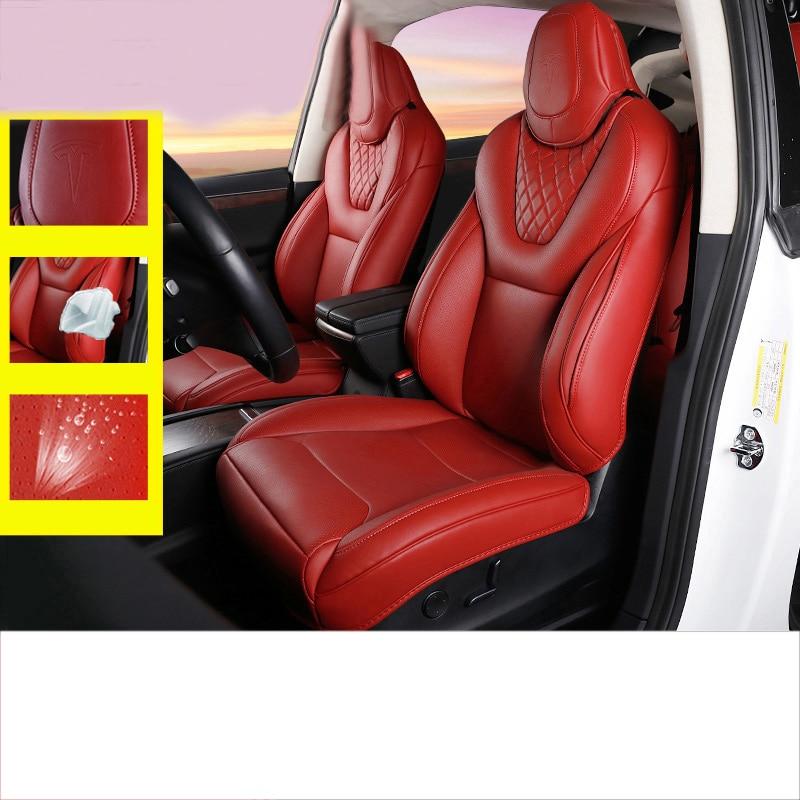 Lsrtw2017 Luxury Car Seat Cover Cushion For Tesla Model X