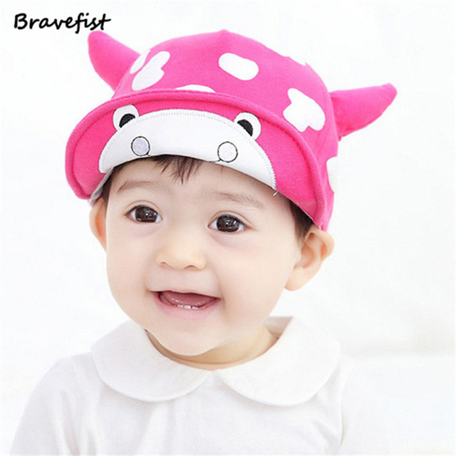 Retail Cow 6-24 Moths Year Infant Hats Beauty Snapback Outdoor Baby Golf  Caps Boy 2121bedc53c
