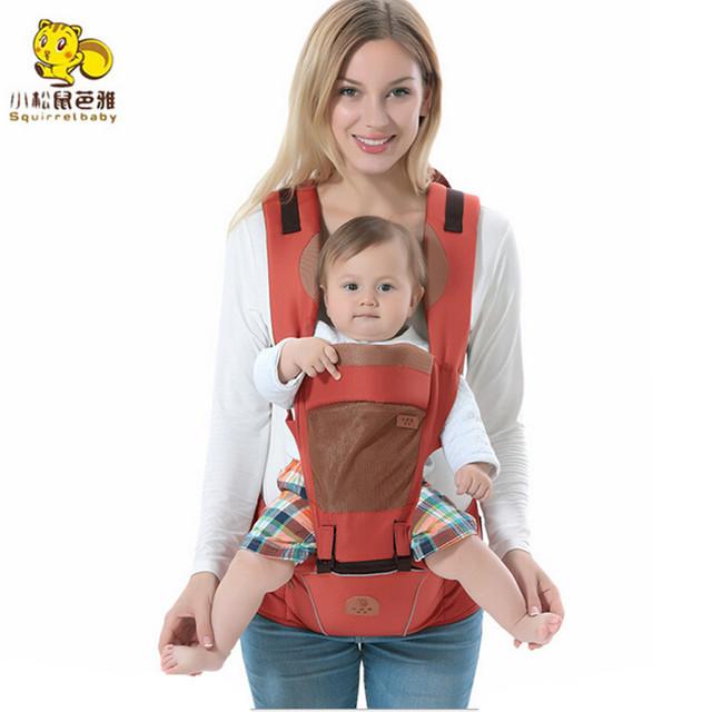 Portador de bebê Infantil Criança Assento Hip Rider Mochila Sling Newborn Bolsa Canguru 3-36 Meses Algodão Respirável Multifuncional