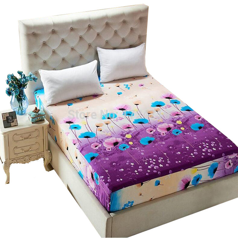 Fashion Bedding Rubber Sheet Elastic Bed Cover Bed Sheet Summer Mattress  Cover Cushion Cover Bedclothes Bedspread Water In Bedspread From Home U0026  Garden On ...