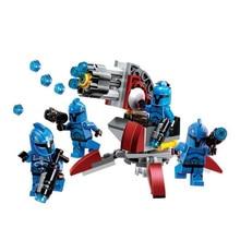 Bela 10367 106pcs Star Series Wars Shadow Cavalry Commando Model Building Blocks Bricks Toys Kids Compatible With Legoings цена