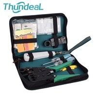 11pcs/set Portable LAN Network Repair Tool Kit RJ45 RJ11 RJ12 CAT5 CAT5e Cable Tester Screwdriver Plier Crimping Maintenance Kit