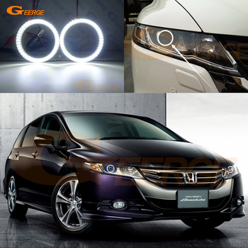 For honda Odyssey 2008 2009 2010 2011 2012 2013 2014 Excellent led Angel Eyes Ultra bright illumination smd led Halo Ring kit honda odyssey